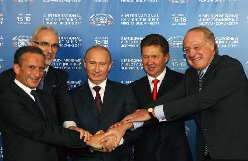 «Южный поток» акционеры из Германии и Франции